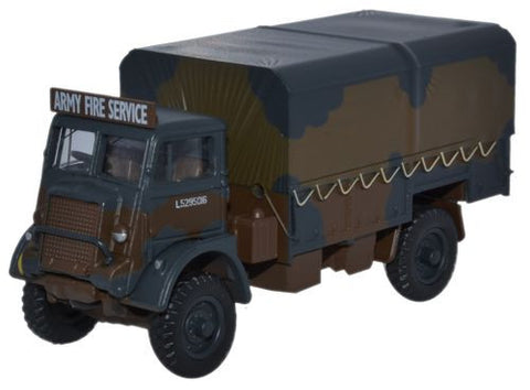 Bedford QLD, British Army Fire Service (1:76 OO Scale) by Oxford Diecast Military Vehicles