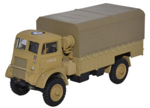 Bedford QLD, 30 Corps, Royal Army Service Corps, 8th Army, 1942-3 (1:76 OO Scale) by Oxford Diecast Military Vehicles