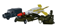 Bloodhound Missile Set, Royal Air Force (1:76 OO Scale) by Oxford Diecast Military Vehicles