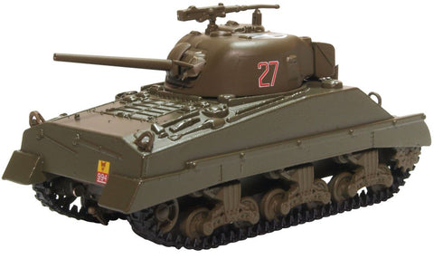 M4A2 Sherman III - 4th /7th Royal Dragoon Guards, France, 1944 (1:76) by Oxford Diecast Military Vehicles Item Number: 76SM004