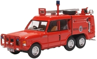 Truck Fire-Fighting Airfield Crash Rescue Mark 2 Range Rover (TACR2) - RNAS Yeovilton (1:76) by Oxford Diecast Military Vehicles Item Number: 76TAC007