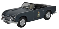 Triumph TR4, 103 Maintenance Unit, RAF Akrotiri, Cyprus (1:76 OO Scale) by Oxford Diecast Military Vehicles