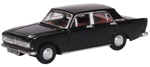 Ford Zephyr 6 Mark III - Black 1962-1970 by Oxford Diecast Item Number: 76ZEP012