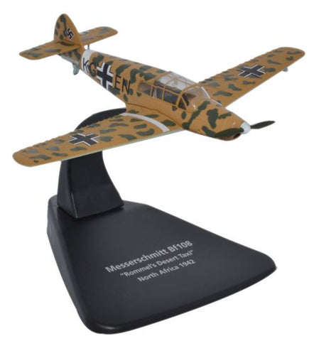 Messerschmitt Bf 108 - Rommels Desert Taxi, Luftwaffe, 1942 (1:72), Oxford Diecast 1:72 Scale Models, Item Number AC047