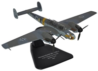 "Messerschmitt Me 110G - JG 1 ""Wespen,"" Luftwaffe, 1943 (1:72), Oxford Diecast 1:72 Scale Models, Item Number AC051"