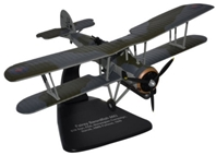 Fairey Swordfish Mk.I, HMS Furious, Royal Navy, Narvik, 1940, Oxford Diecast 1:72 Scale Models, AC064