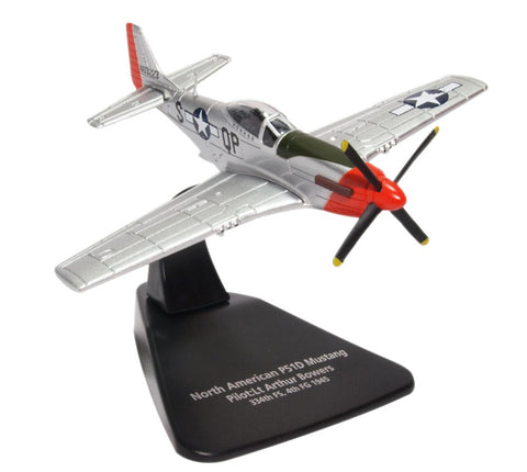 "North American P-51D Mustang ""Sweet Arlene,"" 2nd Lt. Arthur R. Bowers, 334th FS, 4th FG, USAAF, 1945 (1:72), Oxford Diecast 1:72 Scale Models Item Number AC079"