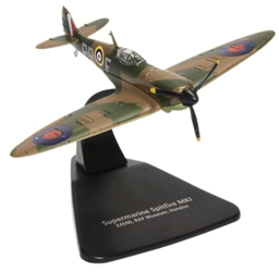 Supermarine Spitfire Mk.I _ No. 609 (West Riding) Squadron, Royal Air Force, 1940 (RAF Museum, Hendon) (1:72), Oxford Diecast 1:72 Scale Models Item Number AC087
