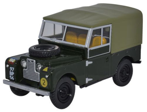 "Land Rover Series I, 88"" Canvas, Royal Mechanical and Electrical Engineers, British Army (1:43 O Scale) by Oxford Diecast Military Vehicles"