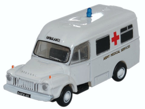 Bedford J1 Lomas Ambulance, Army Medical Services (1:148 N Scale) by Oxford Diecast Military Vehicles