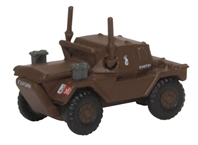 Daimler Dingo Scout Car, 10th Mounted Rifles, 10th Armoured Cavalry Brigade (Polish), England, 1942-1943 (1:148 N Scale) by Oxford Diecast Military Vehicles