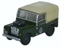 "Land Rover Series I, 88"" Canvas, Civil Defence Corps (1:148 N Scale) by Oxford Diecast Military Vehicles"