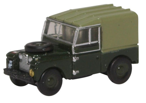 "Land Rover Series I, 88"" Canvas, Royal Electrical and Mechanical Engineers, British Army (1:148 N Scale) by Oxford Diecast Military Vehicles"