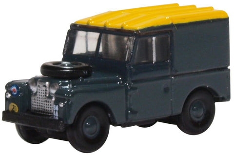 "Land Rover Series I, 88"" Hardtop, Royal Air Force (1:148 N Scale) by Oxford Diecast Military Vehicles"