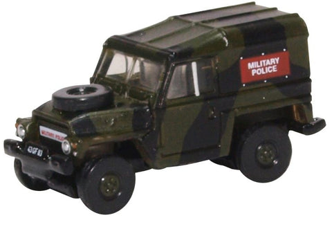Land Rover 1/2-Ton Lightweight, Military Police (1:148 N Scale) by Oxford Diecast Military Vehicles
