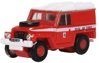 "Land Rover 1/2-Ton ""Lightweight"", Royal Air Force ""Red Arrows"" (1:148 N Scale) by Oxford Diecast Military Vehicles"