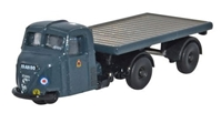 Scammell Scarab with Flatbed Trailer, Royal Air Force, 1950s-1960s (1:148 N Scale) by Oxford Diecast Military Vehicles