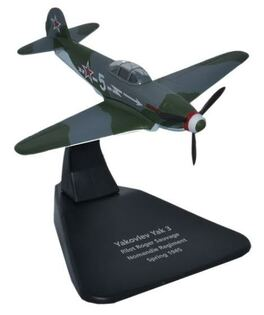 Yakovlev Yak-3, 3rd Fighter Group (Normandie-Niemen Regiment), Free French Air Force, 1945 (1:72) by Oxford Diecast 1:72 Scale Models Item Number: AC0054