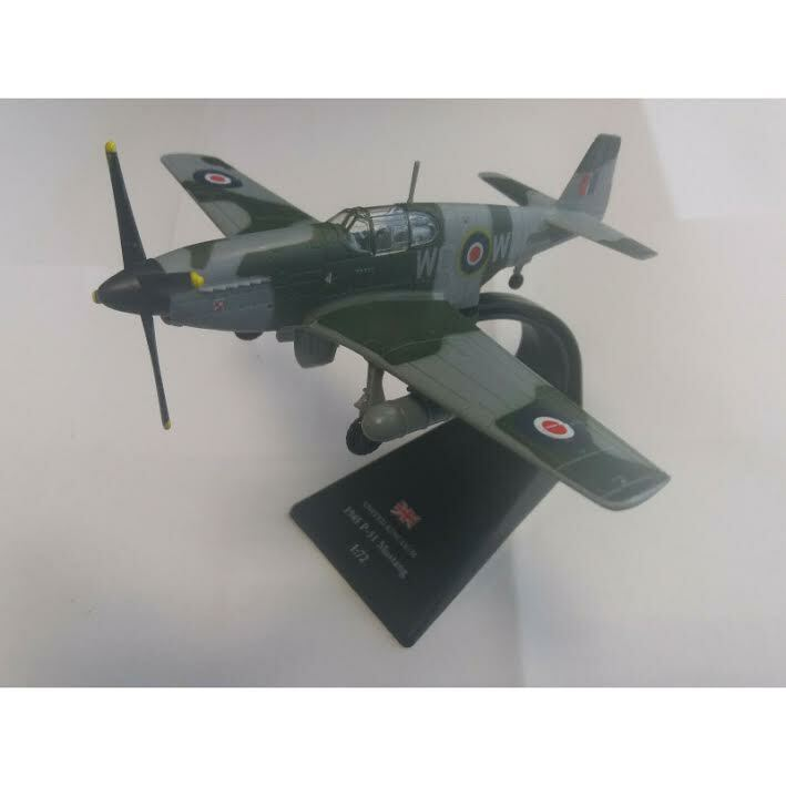 "North American Mustang Mk.III, Antoni Murkowski, No. 309 ""Land of Czerwien"" Polish Fighter Squadron, RAF, 1945 (1:72) by Amercom Diecast, Item Number: ACSL22-03"