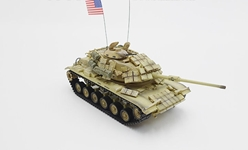 "M60A1 RISE with ERA ""American Express,"" U.S. Marine Corps, Desert Storm, 1991 (1:72)"