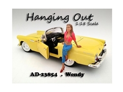 Hanging Out Wendy Figurine for 1/18