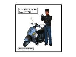 Biker Cash Figure For 1:12 Models