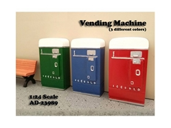 1 Piece Vending Machine Accessory Diorama Green For 1:24