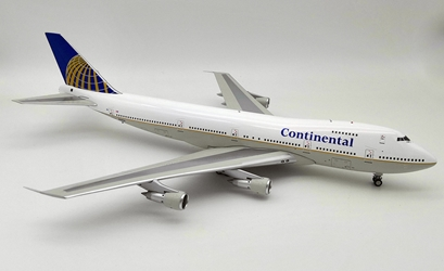 Continental Airlines Boeing 747-200 N33021 (1:200) by InFlight 200 Scale Diecast Airliners Item Number: IF742CO1218