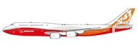 Boeing B747-8I (Sunrise Livery) N6067E with Antenna (1:400)