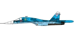 SU-34 Fullback Russian Air Force, Kubinka Air Base, 2018 (1:72)