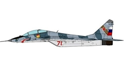 MiG-29UB Fulcrum Russian Air Force, 31st GvIAP, 2006 (1:72)