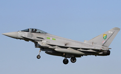 "Eurofighter Typhoon ZJ927 ""QO-M"", 3 Sqn., RAF, Libya 2011 (1:72) - New Tooling!  by Hobby Master"
