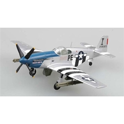 P-51B Mustang, Patty Ann II, Lt Thornell (1:72), EasyModel Aircraft Models Item Number EM36355