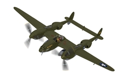 "Lockheed P-38G Lightning 43-2264 ""Miss Virginia"", 339th FS, 347th FG, ""Operation Vengeance"", 1943 ""The downing of Admiral Yamamoto"" (1:72)"