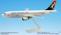 South African Cargo A300B2 (1:200), Flight Miniatures Snap-Fit Airliners Item Number AB-30000H-014