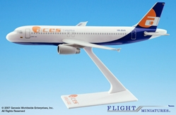 ACES Colombia (97-02) A320-200 (1:200), Flight Miniatures Snap-Fit Airliners Item Number AB-32020H-033