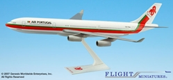 TAP Air Portugal A340-300 (1:200), Flight Miniatures Snap-Fit Airliners Item Number AB-34030H-007