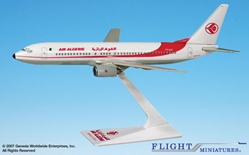 Air Algerie 737-800 (1:200), Flight Miniatures Snap-Fit Airliners Item Number BO-73780H-014