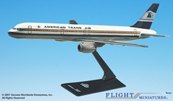 ATA (81-94) 757-200 (1:200), Flight Miniatures Snap-Fit Airliners Item Number BO-75720H-007
