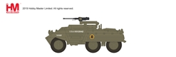 M20 Light Armored Car 1/72 Die Cast Model 807th Tnk Destoryer Bttn., B Co., 1st Platoon, 1945 (1:72)