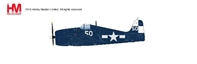 "F6F-5 Hellcat White 50, ""Jolly Rogers"", VF-17, USS Hornet, 1945 (1:32) - Preorder item, order now for future delivery, Hobby Master Diecast Airplanes, HA0307"