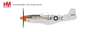 "P-51K Mustang Die Cast Model ""Nooky Booky IV"", Major Leonard Carson, 362nd FS, 357th FG (1:48)"