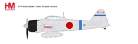 A6M2 Zero Die Cast Model Saburo Sakai, 12th Kokutai, 1940 to 1941 (1:48) by Hobby Master Diecast