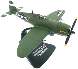 "Republic P-47D Thunderbolt ""Zombie,"" Lt. Thomas Bailey, 361st FS, 356th FG, 8th Air Force, USAAF (1:72), Atlas Editions Item Number ATL-4909-323"