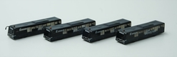 "Airport Bus Set JX ""Link Monster"" Set of 4 Cobus (1:400)"