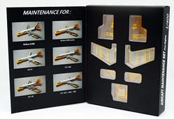 Maintenance Docking System Set For Four Engine Airliners (1:400)