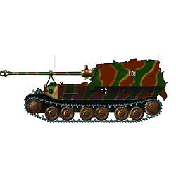 Ferdinand Tank 654th ABT 1:72, EasyModel Military Models, Item Number EM36226