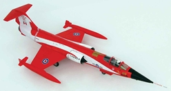 Canadair CF-104 Starfighter Diecast Model RCAF No.421 Sqn, #104868, Canada, 1981 (1:72), Hobby Master Diecast Airplanes, HA1037