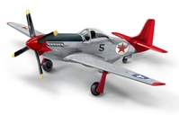 "P-51D Mustang ""Fuel for Victory"" Wings of Texaco 2018, Brushed Metal Edition (1:44) - Preorder item, order now for future delivery"