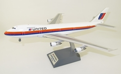 United Airlines Boeing 747-100 N4724U With Stand (1:200)